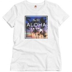 Aloha Hawaii Beach Sunset Shirt