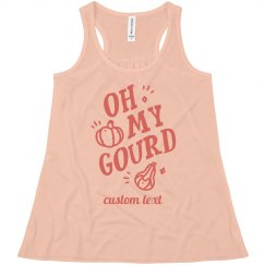 Oh! My! Gourd! Custom Kid's Halloween Tank
