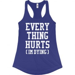 Everything Hurts Honest Runner