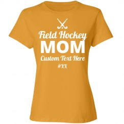 Custom Field Hockey Mom