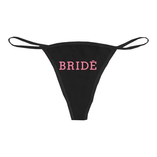 af4c1501d Trendy Bride Logo Bikini Thong Underwear