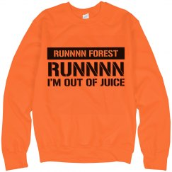 Run Forest Vape Neon Sweatshirt