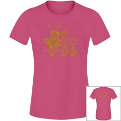 Leo Junior Fit ladies Tee
