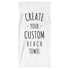 Design a Custom Beach Towel