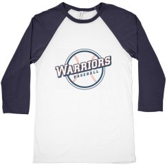 Adult Warriors 3/4 Sleeve