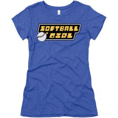Super Softball Girl
