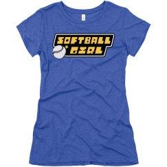 Super Softball Girl