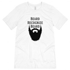 Beard Recognize Beard Tee