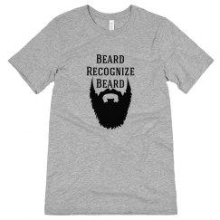 Beard Recognize Beard Tee