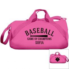 Sofia, Baseball bag