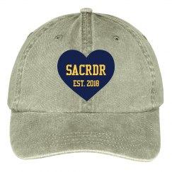 SacRDR Baseball Hat Est 2018