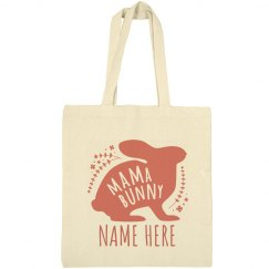 Mama Bunny Easter Tote