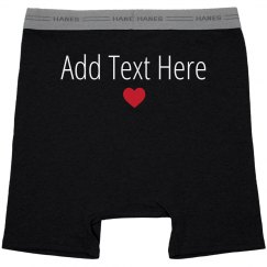 Personalized Mens Boxers Gift