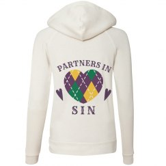 Mardi Gras Partners In Sin Hoodie 1