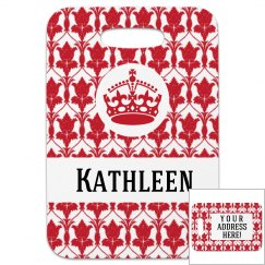 Crown Pattern Tag