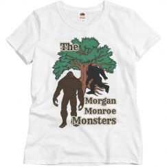 Indiana Bigfoot: Morgan Monroe Monsters Ladies Tee