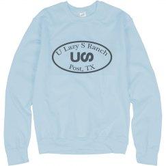 U Lazy S Circle Logo Gildan Crewneck Sweatshirt