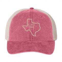 U Lazy S TX Cotton Twill Trucker Cap