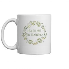HNIT Green Wreath Mug