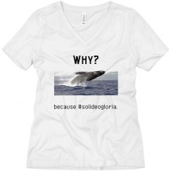 Why whale?-women's tee