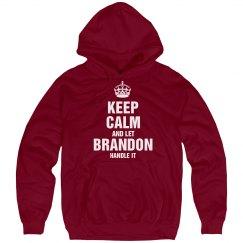 Let Brandon handle it