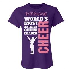 Stephanie. Awesome cheerleader