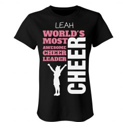 Leah. Awesome cheerleader