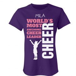Mila. Cheerleader