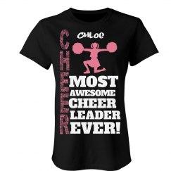 Chloe. Awesome cheerleader
