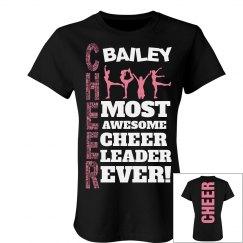 Bailey cheer shirt
