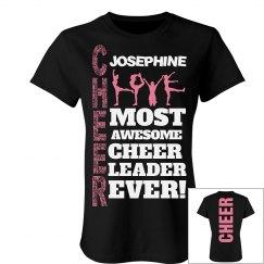 Josephine cheer shirt