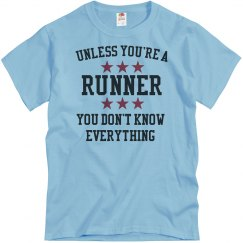 Runners know all