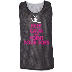 Point Your Toes Pinnie