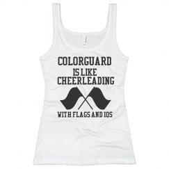Colorguard vs Cheerleading