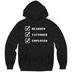 Bearded, Tattooed, Employed