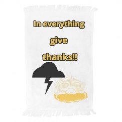 LMM#80 In everything give thanks towel