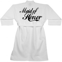 Comfortable Maid Of Honor Spa Robe