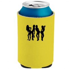 Yellow Beer Can Coolie