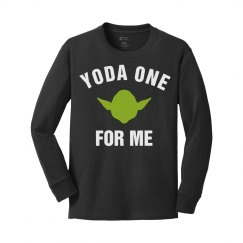 Yoda One For Me This Valentine's