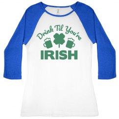 Irish Drinking Shirts For Women