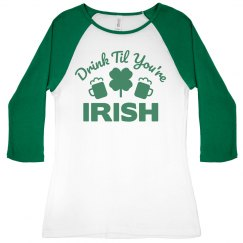 Irish Drinking Shirts For Women