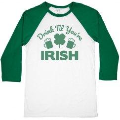 Irish Drinking Shirts For Men