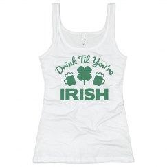 St. Patrick's Day Irish Tank Top