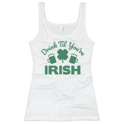 St. Patrick's Day Irish Tank Top