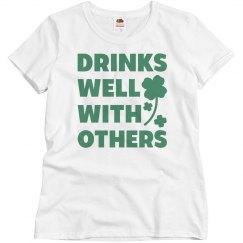 St. Patrick's Day Women's Drinking
