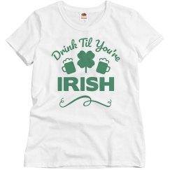 Drink Til You're Irish Pub Crawl