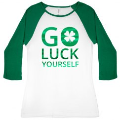 Go Luck Yourself Green Metallic