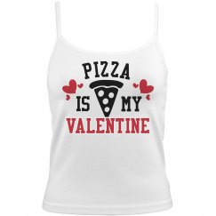 Pizza is My Valentine Tank