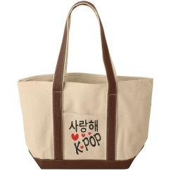 I Love Kpop Tote