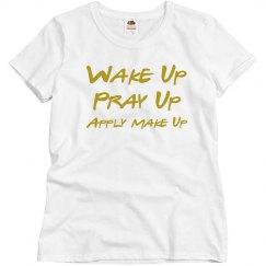 Pray before all else